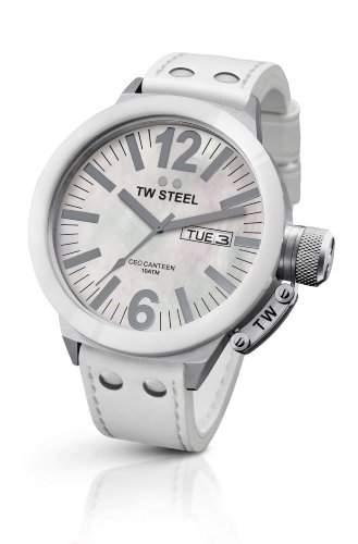 TW Steel Unisex-Armbanduhr CEO Canteen TWCE1038