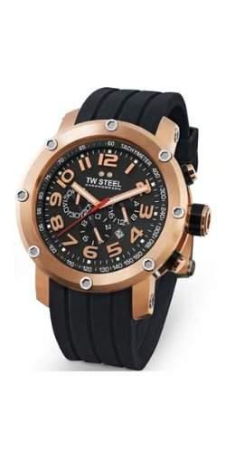 TW Steel Herren-Armbanduhr XL Tech Chronograph Quarz Kautschuk TW131