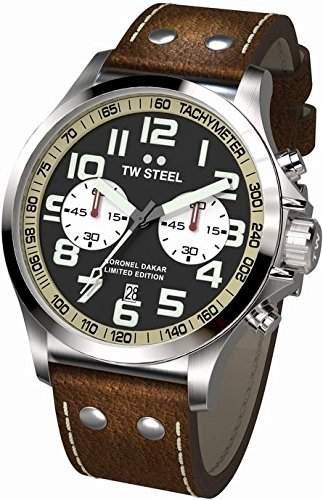 TW Steel Coronel Dakar Limited Edition TW-456 Herrenchronograph XXL Uhr
