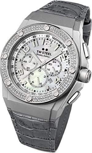 TW Steel CEO Tech Chrono TWCE4005 Damenchronograph mit echten Diamanten