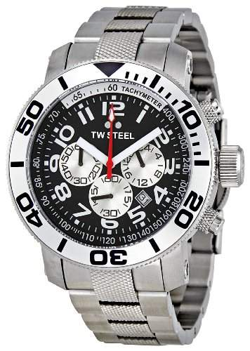 TW Steel Herren-Armbanduhr Grandeur Diver Chronograph Quarz TW-70