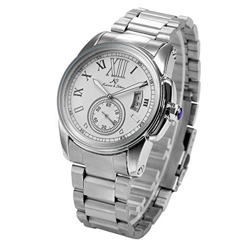KS Kronen Soehne Automatikuhr Mechanische Armbanduhr Automatik Mechanik Uhr KS065