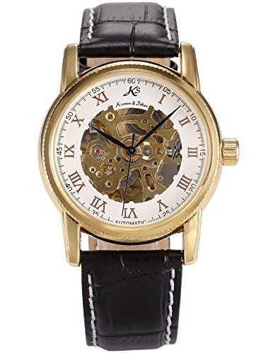 KS Kronen & Soehne Automatikuhr Mechanische Armbanduhr Herrenuhr Automatik Mechanik Uhr KS031