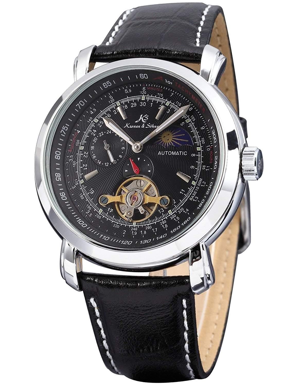 KS Kronen & Soehne Automatikuhr Mechanische Armbanduhr Herrenuhr Automatik Mechanik Uhr KS068