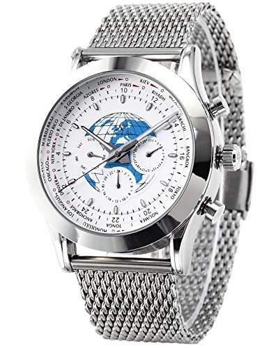 KS Herrenuhr Automatik Uhr Mechanische Uhr Automatikuhr Edelstahl Armband Uhr KS087