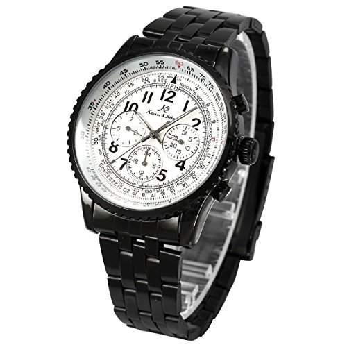 KS Automatik Herrenuhr Automatikuhr Metall Armbanduhr Mechanik Herren Uhr