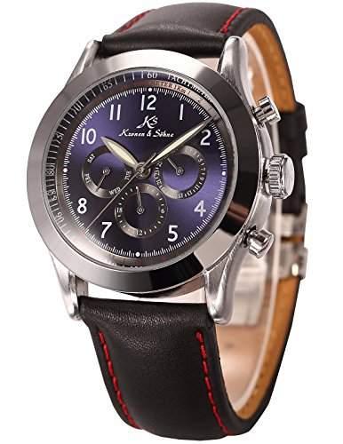 KS Navigator Serie Luxus Herren Automatik Mechanische Armbanduhr
