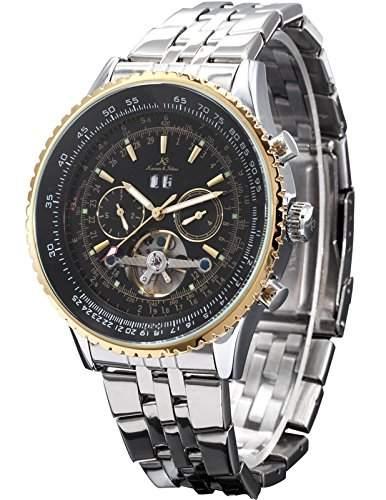KS Kronen & Soehne Automatikuhr Mechanische Armbanduhr Herrenuhr Automatik Mechanik Uhr KS083