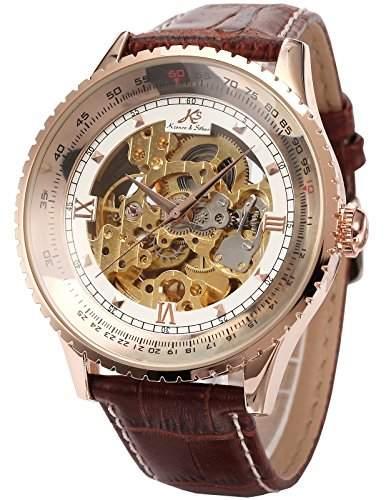 KS Automatikuhr gross Herren Uhr Mechanische Automatik Uhr Herrenuhr Armbanduhr KS113