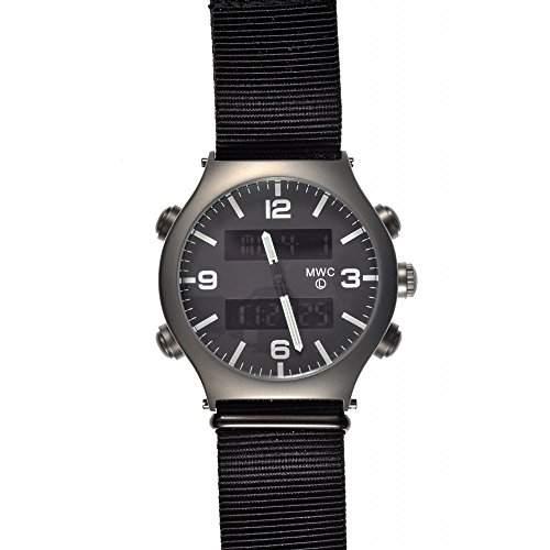 MWC G10 EVO Titan Dual Time Chronograph NATO Militaer Herrenuhr
