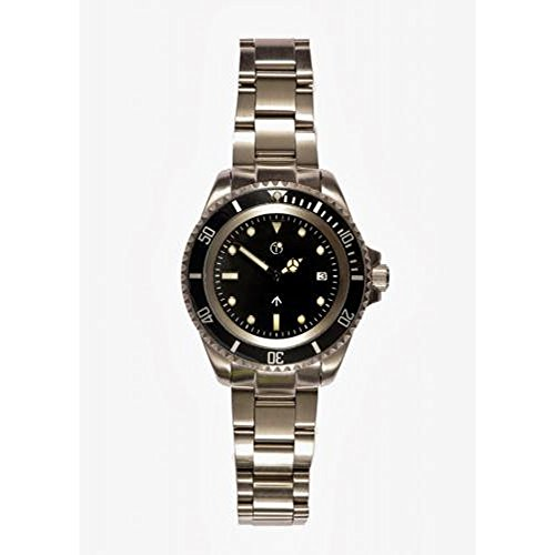MWC 24 Jewels 300m Edelstahl Automatik Submariner steril Militaer
