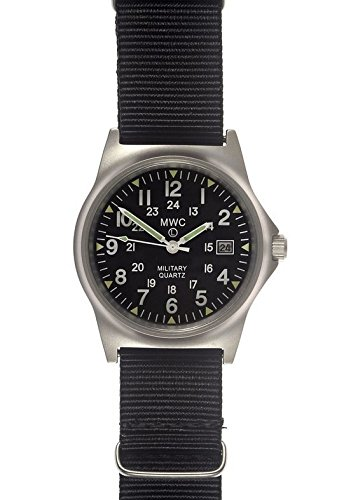 MWC Uhr Military Quarz g10lm quadrante12 24