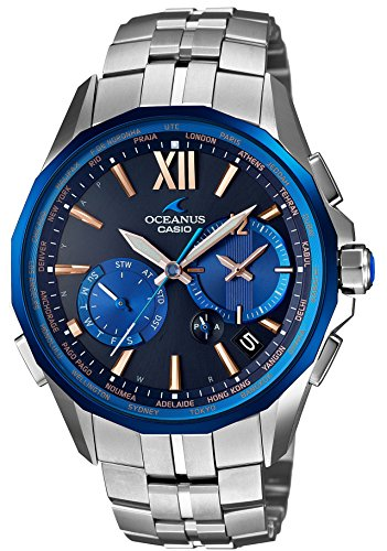 CASIO watch OCEANUS Manta world six stations corresponding Solar radio OCW S3400C 2AJF