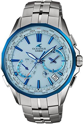 CASIO watch OCEANUS Manta world six stations corresponding Solar radio OCW S3400D 2AJF