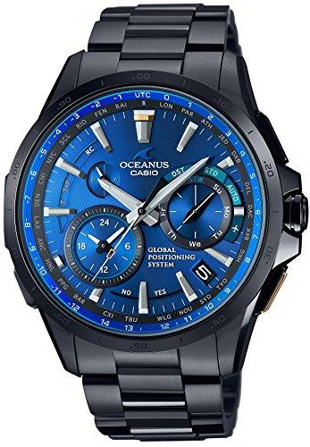 CASIO watch OCEANUS GPS hybrid Solar radio OCW G1000B 1A4JF