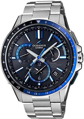 CASIO Mann-Bewachung OCEANUS GPS hybrides Sonnenradio OCW-G1100-1AJF