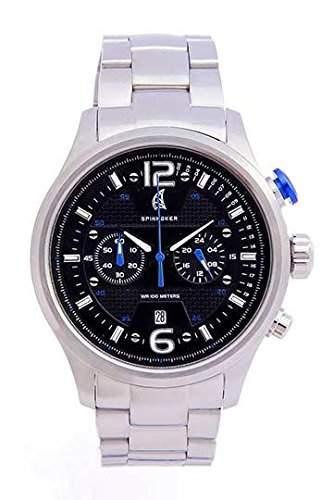 Spinnaker Montecarlo fuer Maenner -Armbanduhr Chronograph Quartz SP-5011-22