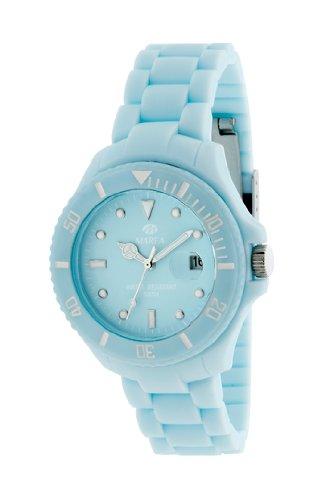 35208 07 Marea Silikon Uhr hellblau mit Datum 5 bar