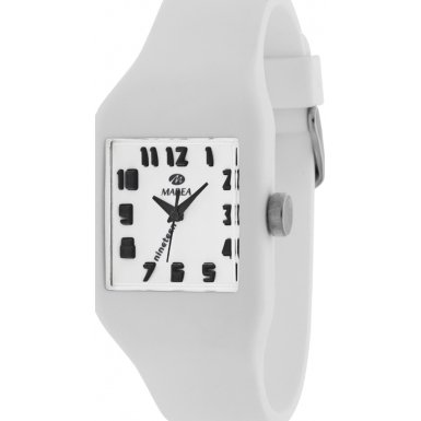35512 01 Marea Silikon Uhr Damenuhr in 3D Optik