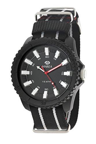 Armbanduhr Marea Analog schwarz Herren Damen B40167 3