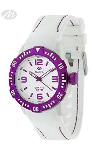 Marea Unisex Armbanduhr mit Silikonband B352278