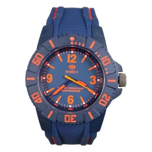Marea Herren Uhr mit Silikon Armband B3523212