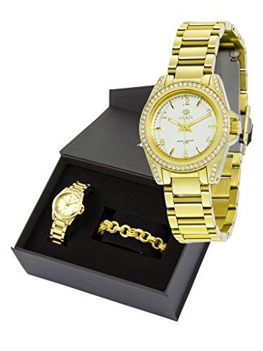 Buendel Frau Flut B54028 21 Uhr und Armband