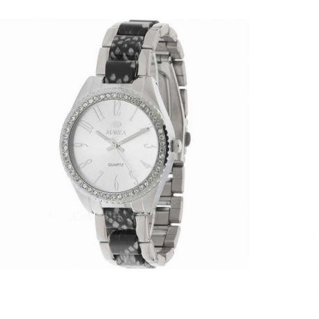 Damen Uhr Marea B41136 11 Stahl und Zirkonia