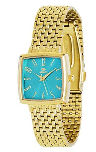 Marea B41148 8 blau gold quadratisch