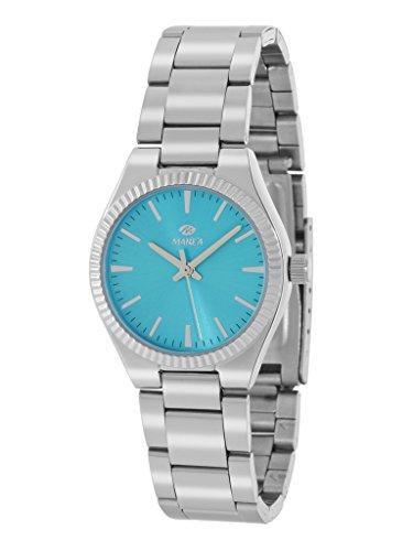 Uhr Flut Frau b21169 2 silber blau