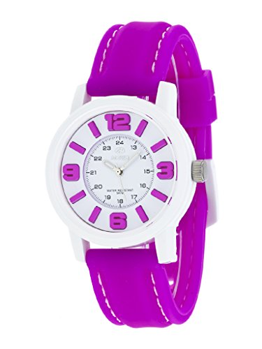 Uhr Flut Frau b41162 12 Gummi Violett