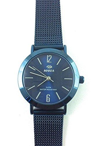 Uhr Flut Frau b41188 3 matte blau