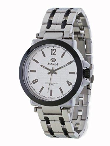 Uhr Flut Mann b54082 2 bicolor IP schwarz