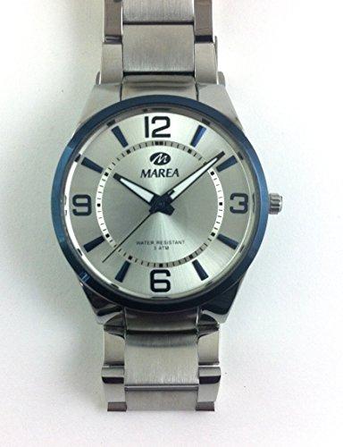 Uhr Flut Mann Bezel Blau b54080 1