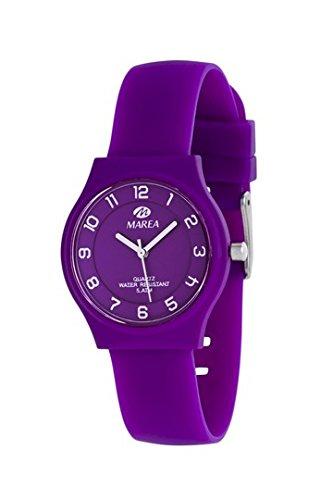 MAREA Armbanduhr NINETEEN SLIM S Silikon lila B35518 4