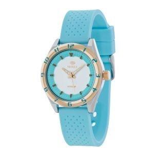 MAREA Uhr fuer Damen Sport mit Silikonband pastell blau B35257 6