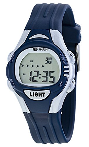 Marea Uhr Digitale Kinderuhr Modell Boys Girls B35263 2 mit Licht