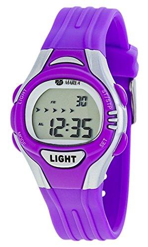 Marea Uhr Digitale Kinderuhr Modell Boys Girls B35263 5 mit Licht