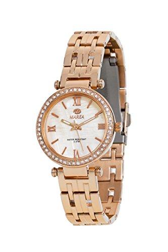 REF b54032 3 Uhr Marea Frau Analog Gehaeuse und Armband aus Edelstahl Farbe rose wasserdicht 30 Meter 2 Jahre Garantie