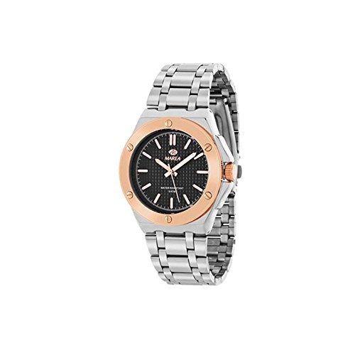 Marea Herren Uhr mit Finish bicolor Modell B41152 7