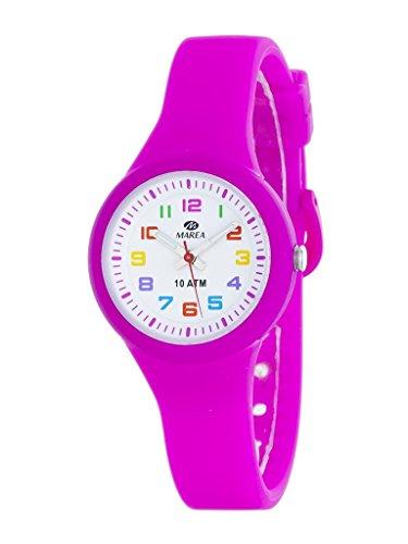 MAREA Jugenduhr mit Silikonband pink B25135 7