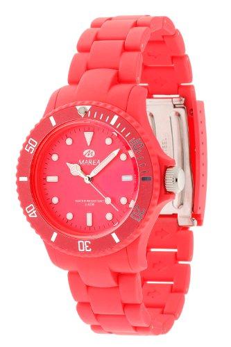 Marea Unisex Analog Quarz Pink Fluoreszierend B40107 5