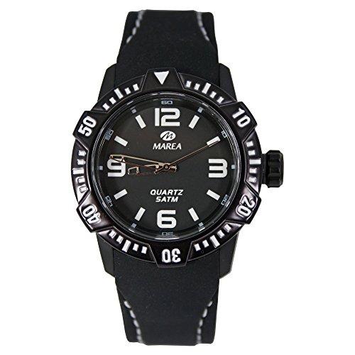 Marea Unisex Armbanduhr mit Silikonband B35227 9