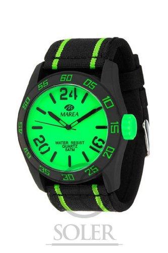 Marea Unisex Uhr mit Neopreno Nylon Armband B35222 66