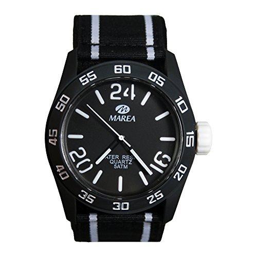 Marea Unisex Uhr mit Neopreno Nylon Armband B35222 51