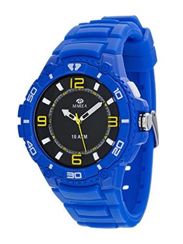 MARENA Armbanduhr Sport mit Beleuchtung blau B25138 3