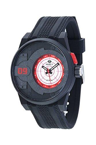 MARENA Armbanduhr Trendy mit Beleuchtung schwarz B40180 3