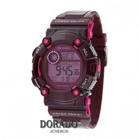 relojm Marea Herren Digital b44069 5 violett
