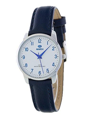 Uhr Flut Frau b41187 2 blau