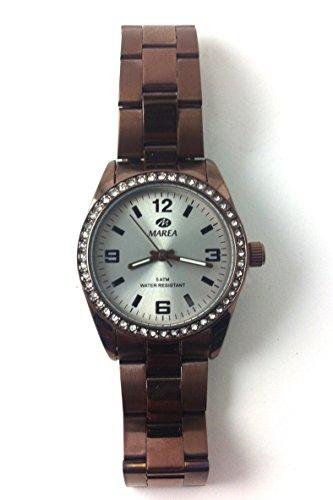 Uhr Flut Frau b41188 3 Schokolade